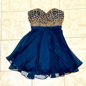 Alyce Paris Dress Style #46573 Beaded Sweetheart